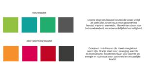 Kleurenpallet de ZorgWereld