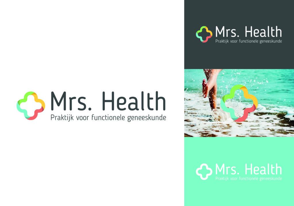 Mrs.Health logo laten ontwerpen
