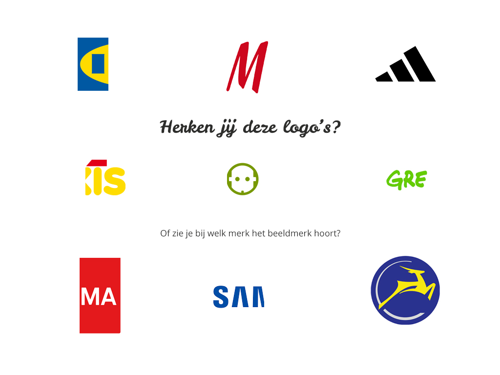 Test of jij alle logo's herkent
